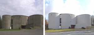Wolcott Public Library Sherwin Williams Before and After