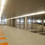 Rubberized Parking Deck