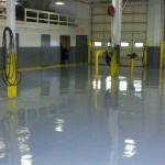 Auto Center Epoxy Floor