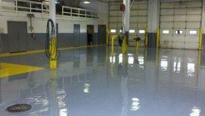 Auto Center Epoxy Floor