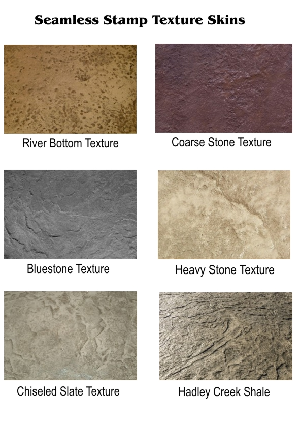 Seamless Stamp Texture Skins