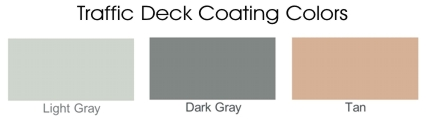 Traffic Deck Coatings Colors