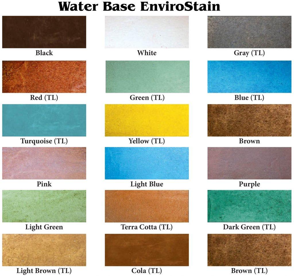 Color Charts Amp Patterns Diamond Kote Decorative Concrete