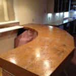Bar Top Copper Metallic After
