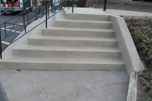 Church Stairs After