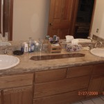 Formica Bathroom Counter After
