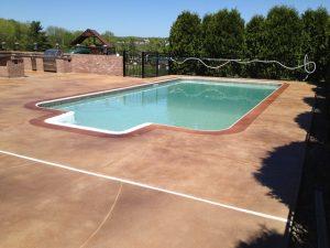 DiamondKote Pool Deck Stain