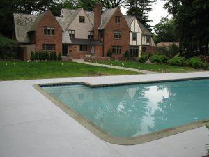 Pool Deck Texture Smokey Silhouette