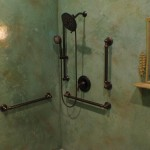 Salon Shower Wall1