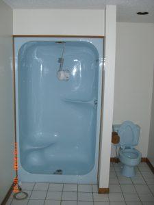 Shower Stall Before DiamondKote