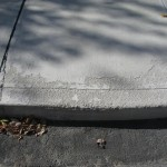 Spalled Concrete Walkway