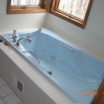 Tub Before Cement Texture