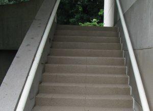 Wesleyan Stairs After