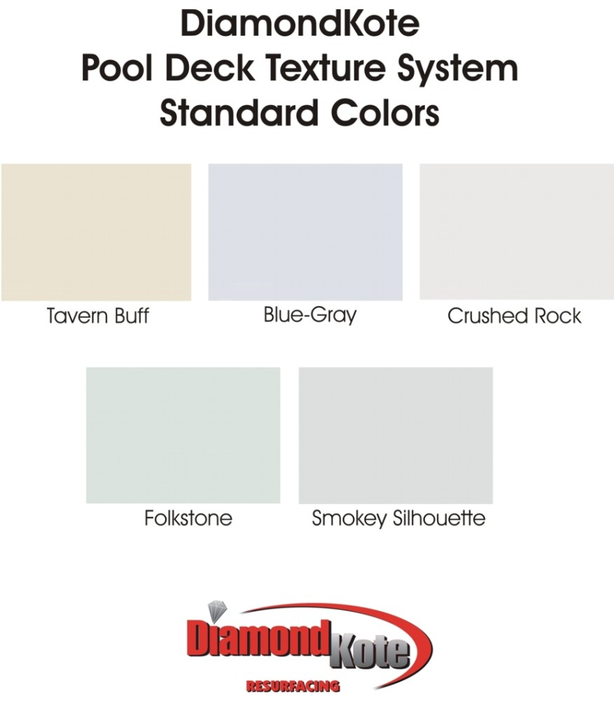 pool deck color chart