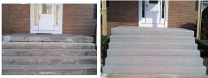 Condo Stairs2 Before and After