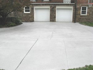 Driveway After Spray Texture