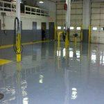 Epoxy Floor Auto Center