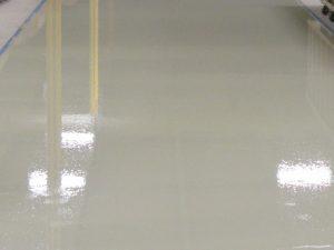 Epoxy Floor Off White
