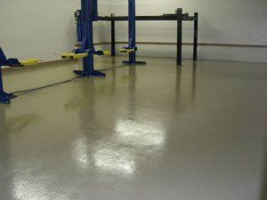 Epoxy Floor Quartz Garage