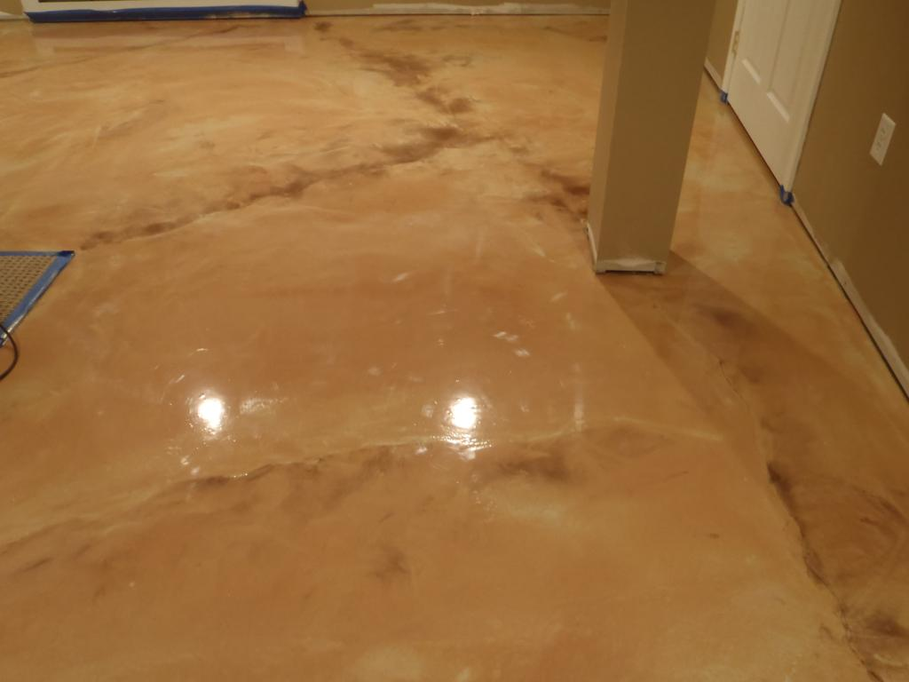 metallic epoxy floor metallic epoxy basement floor kote decorative 28748