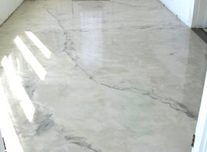Metallic Pearl Quicksilver Diamond Kote Decorative Concrete Resurfacing And Epoxy Floors