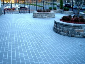 Spray Stencil Paver Stone Commercial