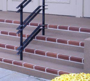 Church Multi Color Brick Row