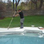 Sealing Pool Deck