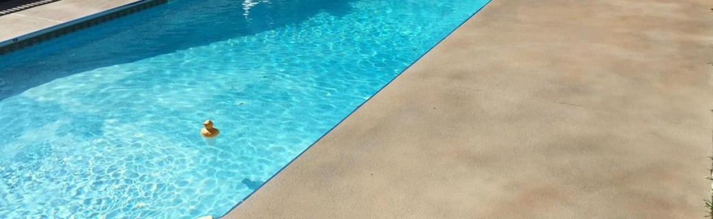 DiamondKote Pool Deck Staining