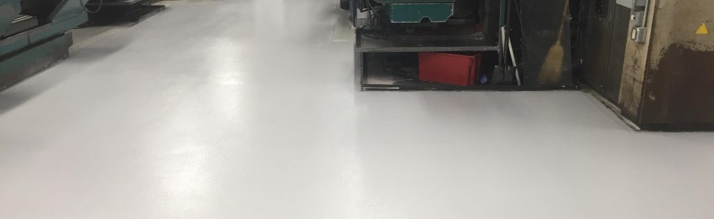 Epoxy Broadcast Floor