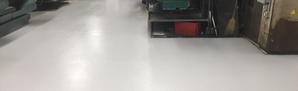 Epoxy Broadcast Floor