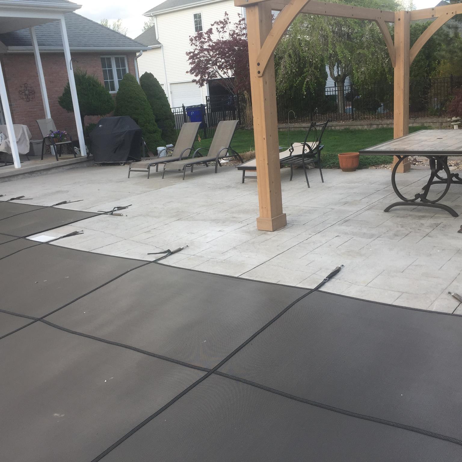 Pool deck color restoration in wethersfield ct diamond - Pool restoration ...