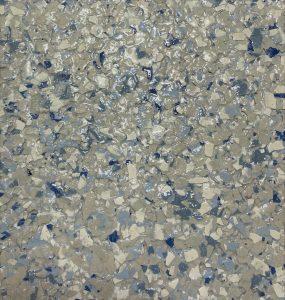 Vinyl Chip Floor- Stonewash